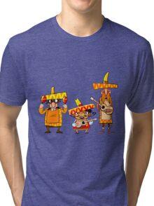 Mexican musicians Tri-blend T-Shirt