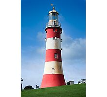 Lighthouse: Smeaton's Tower Photographic Print