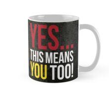 Fair Warning! Mug