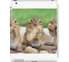 "Say ""Cheese"" (or Peanuts) iPad Case/Skin"