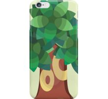 Town Trees iPhone Case/Skin