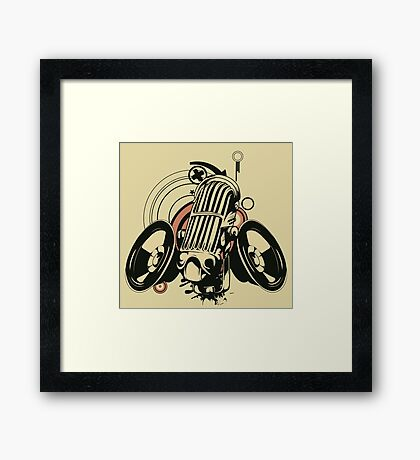 Music art Framed Print