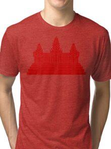 Angkor Wat Ver.2.0 Khmer Temple Tri-blend T-Shirt