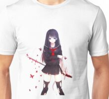 Girl with sword Unisex T-Shirt