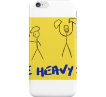 The Heavy Sigh Podcast iPhone Case/Skin