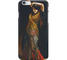 Leopold Schmutzler (Austrian, 1864-1941), The Flamenco Dancer iPhone Case/Skin