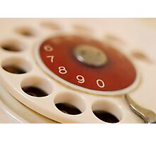dial up Photographic Print