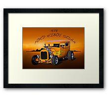 1928 Ford 'HiBoy' Sedan II Framed Print