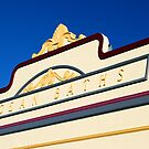 Newcastle Baths Art Deco Facade by Bev Woodman