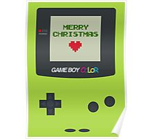 Gameboy Christmas Poster