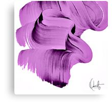 Radiant Orchid Abstract Canvas Print