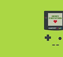 Gameboy Christmas by laprasthebold