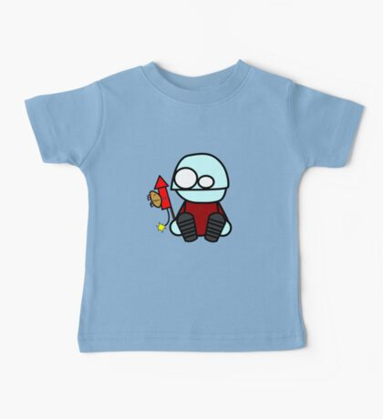 Monty sends the hamster to space Baby Tee