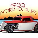 1933 Ford Coupe II by DaveKoontz