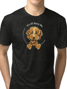 Cockapoo Tan IAAM Tri-blend T-Shirt