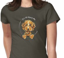 Cockapoo Tan IAAM Womens Fitted T-Shirt