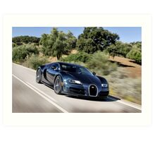 The Worlds Fastest Car ... Art Print
