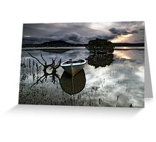 A Days Reflection Greeting Card