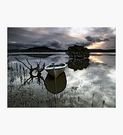 A Days Reflection Photographic Print