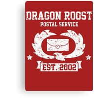 Dragon Roost Island Mail Canvas Print