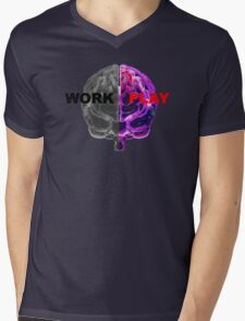 Work / Play Mens V-Neck T-Shirt
