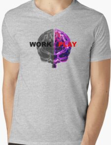 Work / Play Mens V-Neck T-Shirt