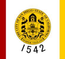 Flag of San Diego  Sticker
