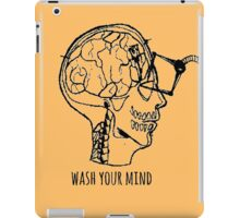 Wash Your Mind iPad Case/Skin