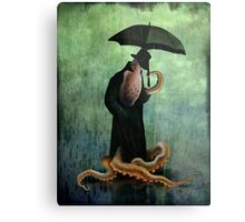 getting wet Metal Print