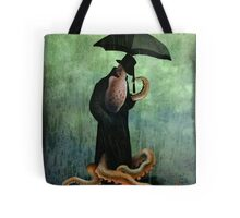 getting wet Tote Bag