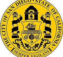 Seal of San Diego by abbeyz71