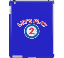 Let's Play 2 iPad Case/Skin