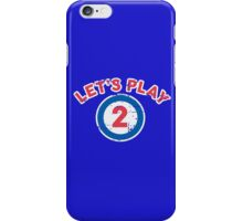 Let's Play 2 iPhone Case/Skin
