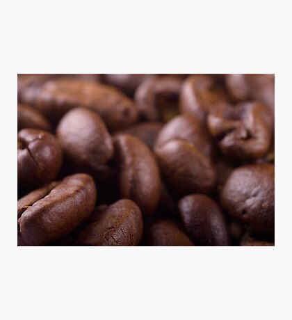 Coffee beans background Photographic Print