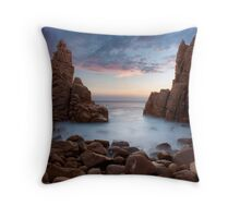 Dusk at the Pinnacles Throw Pillow