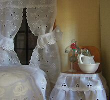 I live in a dollhouse with lace for curtains. . .  by urmysunshine