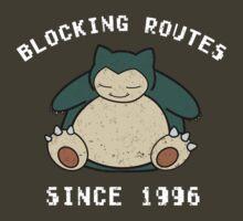 Route blocker by laprasthebold