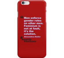 It's The Solution iPhone Case/Skin