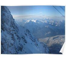 Mountains In Austria Poster
