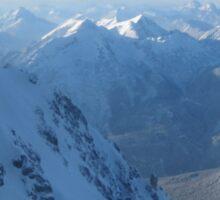 Mountains In Austria Sticker