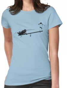 Seesaw Narwhal Womens Fitted T-Shirt