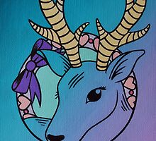 Oh, Deer! by ninibursnarfsky