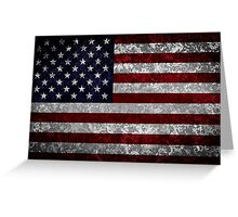 Flag of the United States Greeting Card