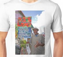 Smoothies stall in Antigua Caribbean Unisex T-Shirt