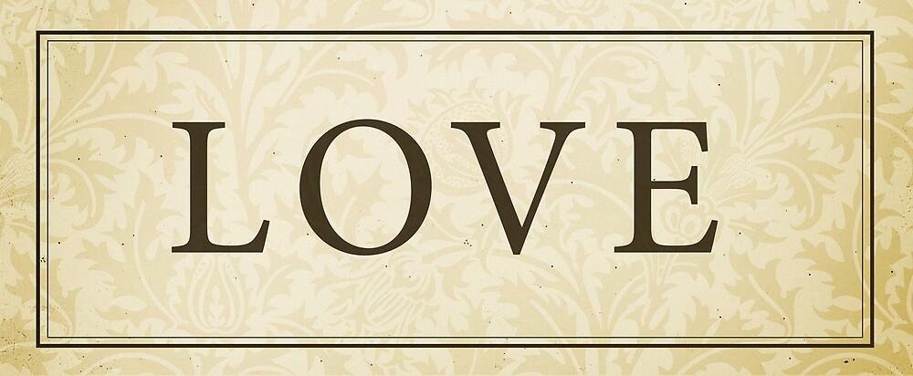 Love Sign/Plaque by Dallas Drotz