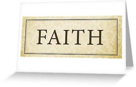 Faith Sign/Plaque by Dallas Drotz