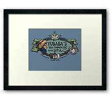 The Bathhouse Framed Print