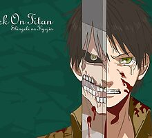 Eren Yeager by laprasthebold