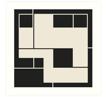 De Stijl / Bauhaus series 2 Art Print