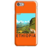 Visit ETHIOPIA Travel Poster iPhone Case/Skin